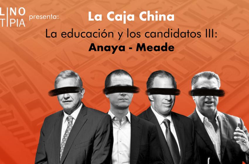 La educación y los candidatos (III)