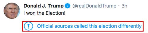 Tuit Donald Trump