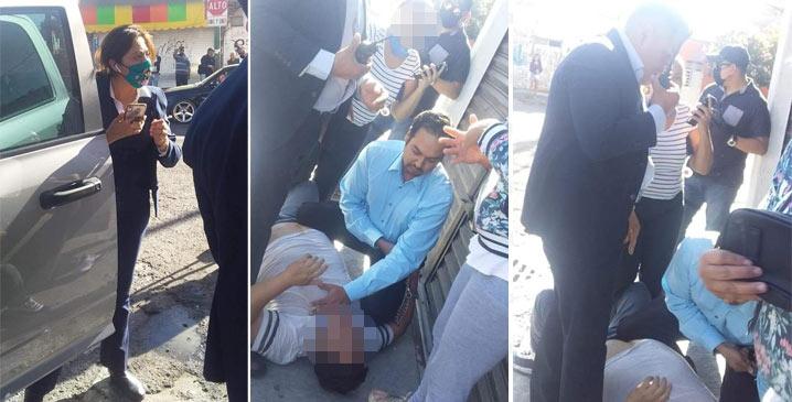 Policías agreden hasta la muerte a comerciante en Celaya