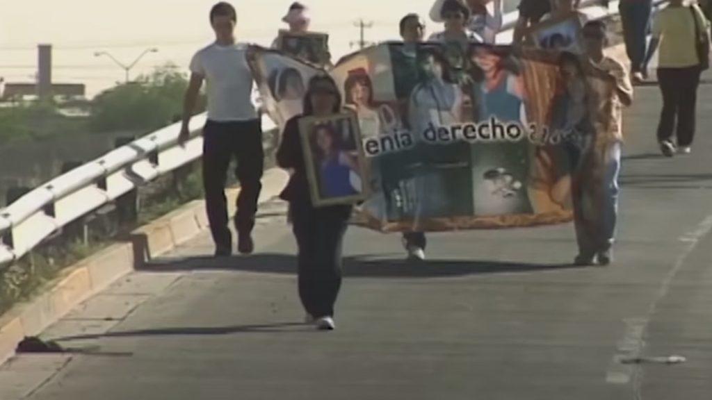 Marisela Escobedo, Frame de Las tres muertes de Marisela Escobedo