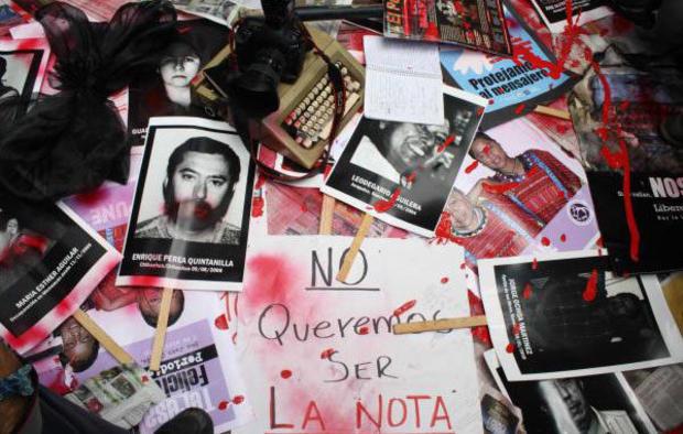 Periodistas asesinados en México 2020; Morir por informar