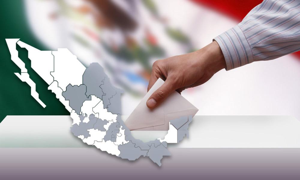 Mexicano votando