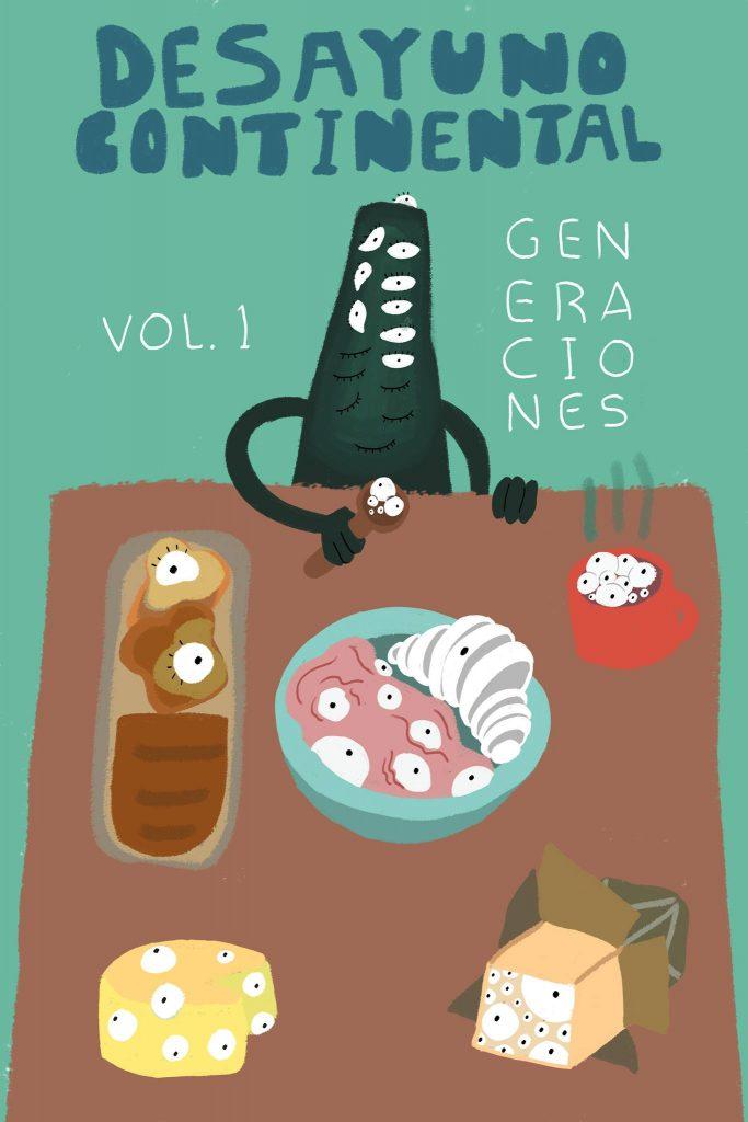 Poster Desayuno Continental Vol. 1