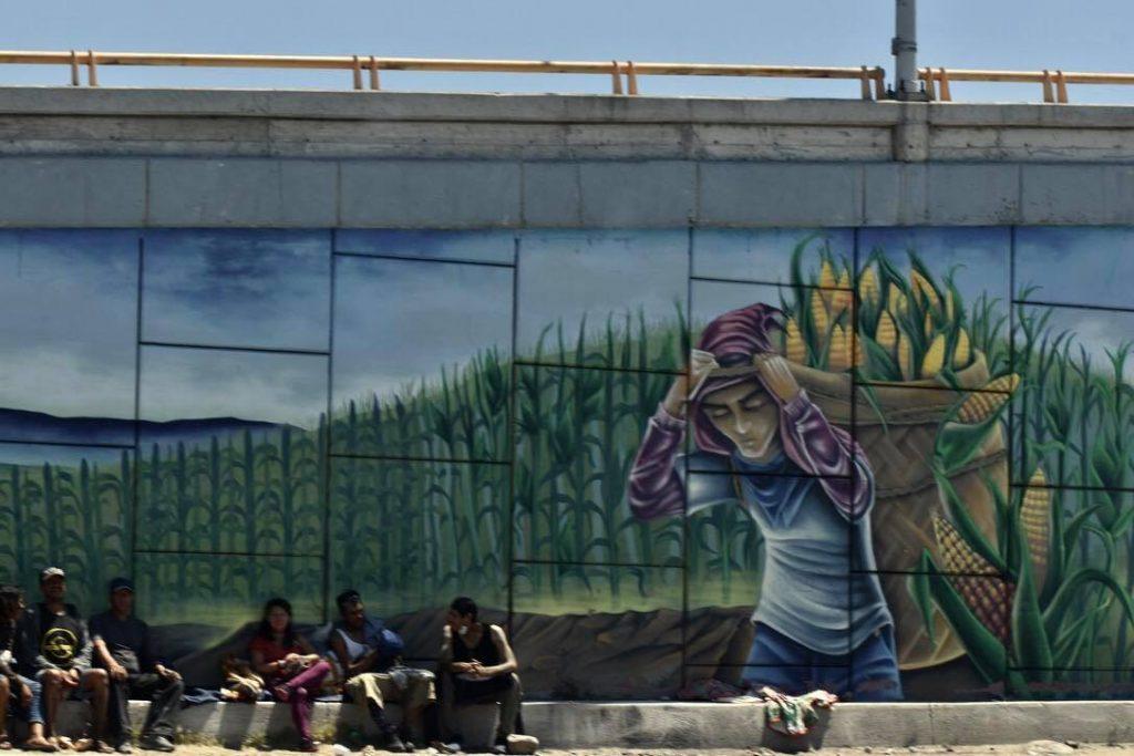 La frontera de Tijuana y San Diego