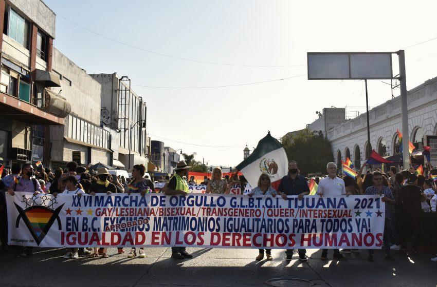 Tijuana se llena de orgullo con el Pride 2021