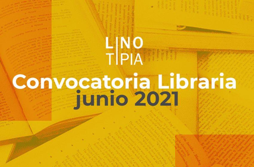 Convocatoria Libraria junio 2021