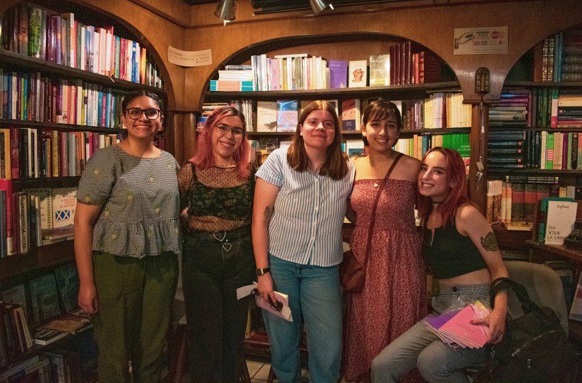 Presentación de libros de Amazonas editorial en El Grafógrafo